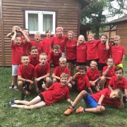 Obóz w Trzęsaczu żaków i orlików 10.08-17.08.2019