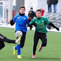 Sparing: MKS Kluczbork - ROW 1964 Rybnik 2:0, 23 stycznia 2016