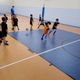 Trening najmłodszych.