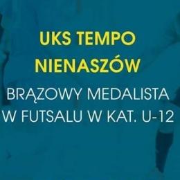 UKS Tempo Nienaszów brązowym medalistom Mistrzostw Podkarpacia