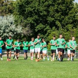 Obóz juniorów Orła Myślenice - Csopak (Węgry)