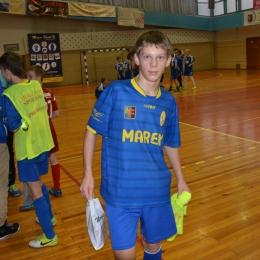 MVP meczu Gwiazda-Marex Mateusz Winciersz (Marex)