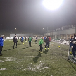 Piłkarze AKS Górnik Niwka wrócili do treningów