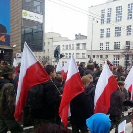 W Gdyni na Paradzie Niepodległości