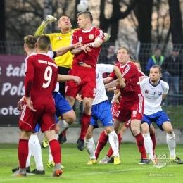 MKS Kluczbork - Miedź Legnica 0:0, 16 kwietnia 2016