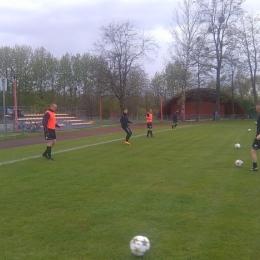 Olza Godów - Inter Krostoszowice :: B-Klasa Rybnik 23.04.2017