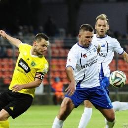 MKS Kluczbork - GKS Katowice 0:2, 29 października 2016