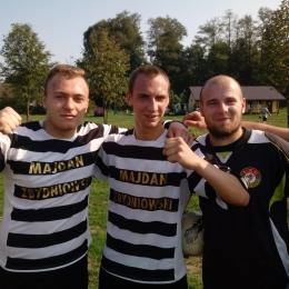 Od lewej; Patryk Drzymała,Michał Mokrzycki,Szymon Dominek