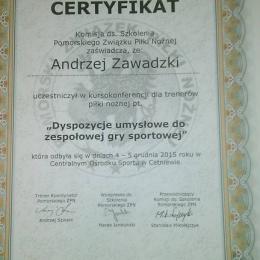Trener Andrzej