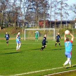 17.11.2018: Grom Więcbork - Zawisza 0:1 (klasa okręgowa)