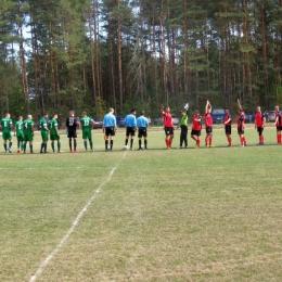 Puchar Polski Legion Krępsko 0:8 Leśni Zawada 30.08.2015