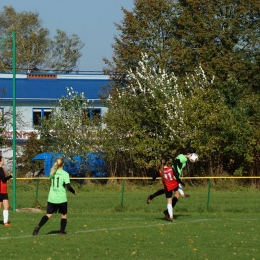 16.10.2016 Dziewczyny: ŁKS Łochów - Warszawska Akademia Piłkarska 1:2 (0:1)