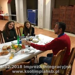 1.12.2018 Pierwsze spotkanie integracyjne
