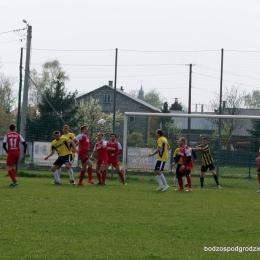 LKS Pustków - BODZOS Podgrodzie 15/04/2017
