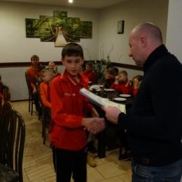 Zakończenie sezonu jesień 2017 Trampkarz młodszy C2 2004-2006