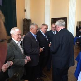 Jerzy Banaszak honorowym członkiem WZPN
