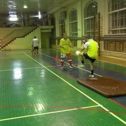 Początek przygotowań - trening na hali