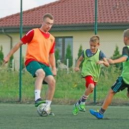 Wspólny trening Unii z dziećmi Fot. Szymon Stolarski