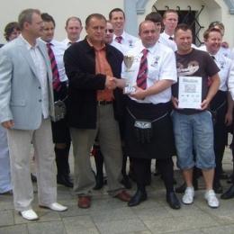 Szkocka drużyna Lomond United AFC z wizytą w Chełmnie (06.07.2008 r.)
