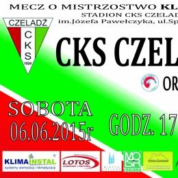 plakat CKS-Orzeł Dąbie