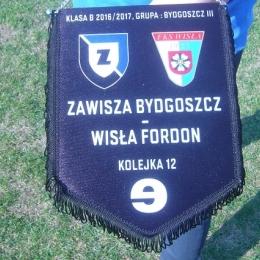 02.04.2017: Zawisza - Wisła Fordon 3:0 (klasa B)