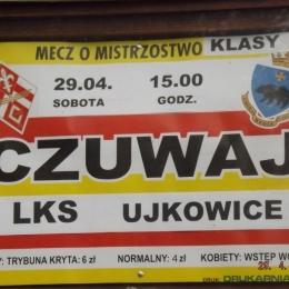 CZUWAJ - LKS UJKOWICE 5-0 29.04.2017r.
