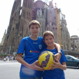 Marcel i Oskar pozdrawiają z Hiszpanii!