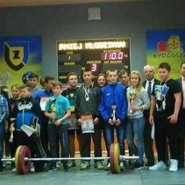Podnoszenie ciężarów: turniej młodzików Bydgoszcz