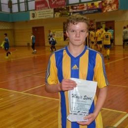 MVP meczu Tarnów-SChLF Piotr Knapik (SChLF)