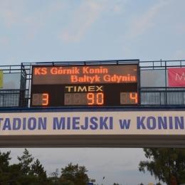 Górnik Konin - Bałtyk Gdynia