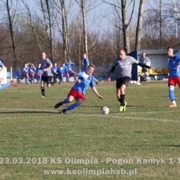 23.03.2019 KS Olimpia - Pogoń Kamyk 1-1