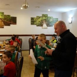 Zakończenie rundy jesień 2017 grupa Młodzik i Orlik