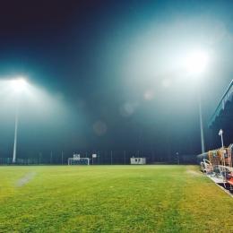 Test sztucznego oświetlenia na Stadionie Miejskim, 7 marca 2016