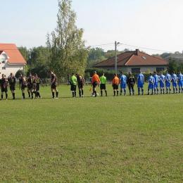 Piast Głubczyn 1 - 2 Legion Kraępsko 05.10.2014 r.
