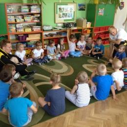 Wizyta AP Bronowice w Przedszkolu Nr 7
