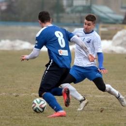 MKS Kluczbork - Odra Opole 3:0, sparing, 18 lutego 2017