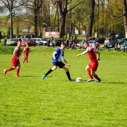 Dwór Kombornia 1:0 San Nozdrzec (źródło: www.lksnozdrzec.futbolowo.pl)