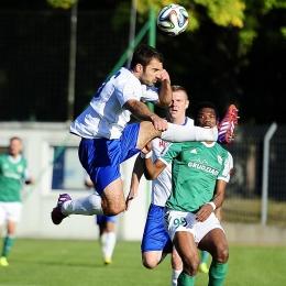MKS Kluczbork - Olimpia Grudziądz 1:0, 10 października 2015
