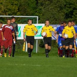 III liga 2014/15: Garbarnia Kraków 0-5 Wisła Sandomierz