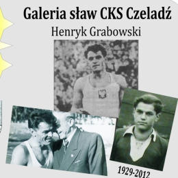 Galeria sław CKS Czeladź