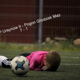 GKS Pogoń Grodzisk Mazowicki - KS SEMP II Ursynów 1-7