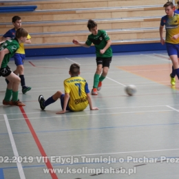 02.02.2019 VII edycja turnieju o Puchar Prezesa KS Olimpia Huta Stara