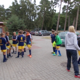 Obóz sportowy trampkarzy - Niechorze 2015