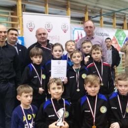 Orlicy czwarte miejsce Turniej Kozpn w Kłodawie