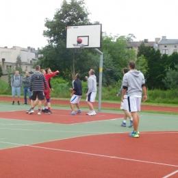 Sekcja koszykarzy
