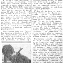 """Artykuł z  """"Żołnierza Polski Ludowej"""" - 31.07.1959."""