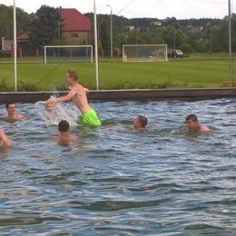 Juniorzy w oczekiwaniu na nowy sezon. Gosław  - lipiec 1016.