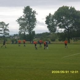 LKS Kombornia 0:3 Wisłok Sieniawa (wo na boisku 2:1)