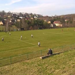 Inter Krostoszowice - Jedność Rogoźna :: B-Klasa Rybnik 26.03.2017