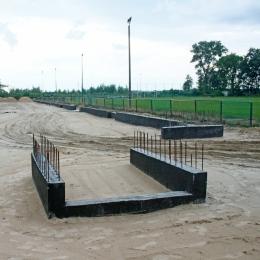 Budowa trybuny (17.07.18)